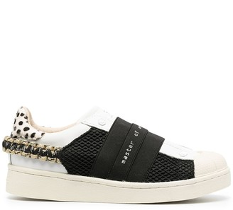 Moa Master Of Arts Slip-On Panel Detail Sneakers