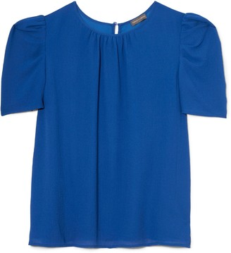 Vince Camuto Puff-Shoulder Blouse