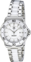 Tag Heuer Formula 1 steel & ceramic diamond dial watch 32mm