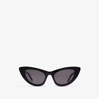 Saint Laurent SL 213 Lily (Black) Fashion Sunglasses