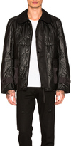 Junya Watanabe Synthetic Leather Quilting Jacket