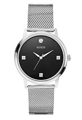 GUESS Men's Analogue Quartz Watch with Stainless Steel Strap W0280G1