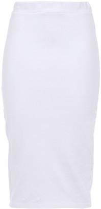 Stateside Stretch-cotton Jersey Pencil Skirt