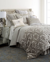 Dransfield and Ross King Vannerie Quilted Satin Coverlet
