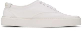 Saint Laurent Lace-Up Low-Top Sneakers