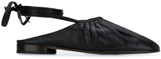 3.1 Phillip Lim Nadia lace up ballerina shoes