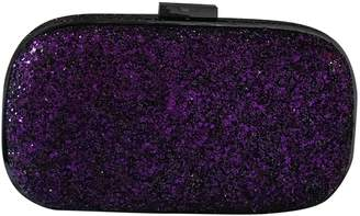 Anya Hindmarch Purple Glitter Clutch bags