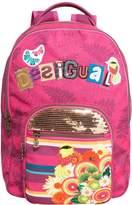 Desigual Girls' Backpack Papaya