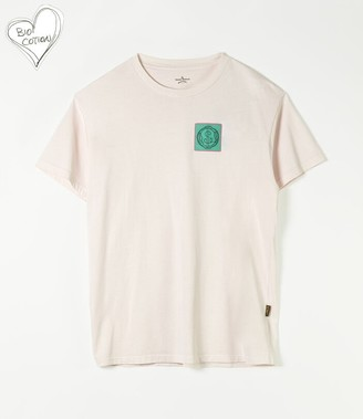 Vivienne Westwood New Boxy T-Shirt Climate Patch Pink