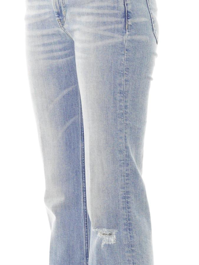 MiH Jeans Cape mid-rise skinny flare jeans