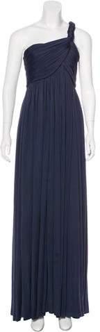 Derek Lam One-Shoulder Silk Dress