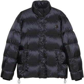 Gucci 'think/Thank' Print Nylon Down Jacket