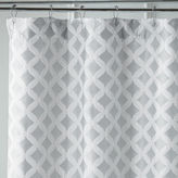 Pier 1 Imports Links Geometric Dove Shower Curtain