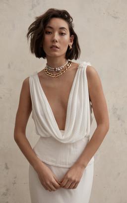 Lola Varma Bridal Fredreick Gown With Raina Corset