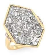 Shana Gulati Charushila Champagne Diamond Izusa Ring