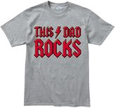 Customised Perfection This Dad Rocks - Father's Day Gift For Daddy Present T Shirt (Tee XL