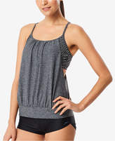 Speedo Racerback Blouson Tankini Top Women's Swimsuit