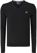 Fred Perry Classic Tipped V-neck Sweater