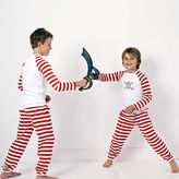 NEW Red striped skull pyjamas Boy's by Hickory Hill