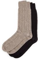 Neiman Marcus Cashmere Sock Set