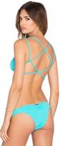 Sofia by Vix Braid Crossed Bikini Top