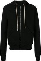 Rick Owens zipped hoodie - men - Cotton - S
