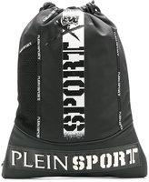 Plein Sport drawstring logo backpack