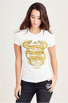 True Religion Snakes Womens Tee