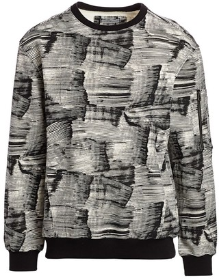 Madison Supply Utility Printed Sweater