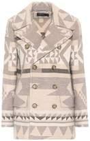 Polo Ralph Lauren Printed wool-blend coat