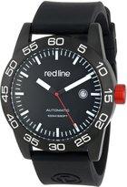 Redline Red Line Men's RL-50045-BB-01-BK-ST Mileage Analog Display Japanese Automatic Watch
