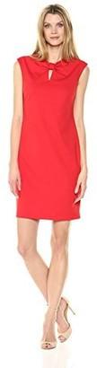 Sharagano Women's Knot Front Dress