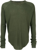 Haider Ackermann ribbed T-shirt