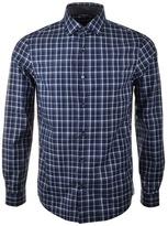 Michael Kors Caden Check Shirt Navy