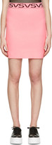 Versus Pink 'VS'Miniskirt
