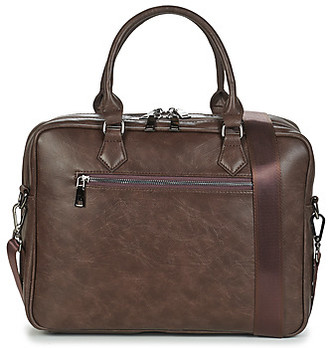 Casual Attitude LINE men's Briefcase in Brown