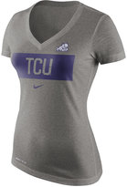 Nike Women's TCU Horned Frogs Dri Blend Tailgate V-Neck T-Shirt