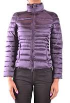 Invicta Women's Purple Polyamide Down Jacket.