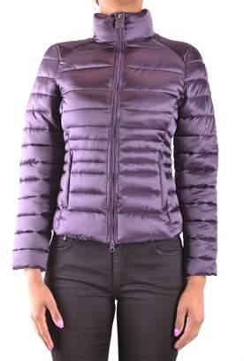Invicta Women's Purple Polyamide Down Jacket.