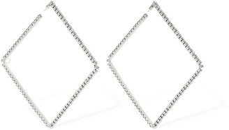 Area LARGE CLASSIC SQUARE HOOP EARRINGS