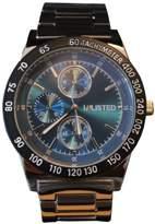 Unlisted Men's Chronograph Silver Tone Bracelet Watch 10027962