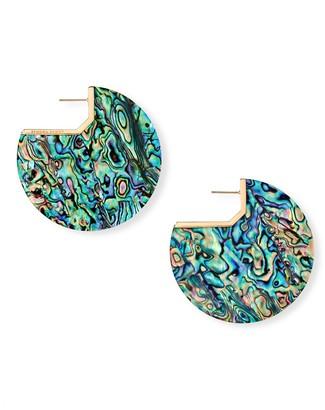 Kendra Scott Kai Abalone Shell Disc Earrings