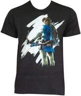Bioworld Zelda Breath of the Wild Mens Triblend T-shirt