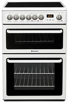Hotpoint HAE60PS Electric Cooker, White