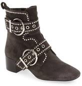 Jeffrey Campbell Women's 'Cygnet' Studded Block Heel Bootie