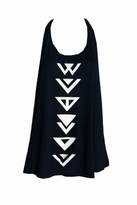 Wildfox Couture Indian Brave Tank Dress in Black