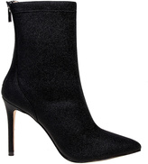 Badgley Mischka Black Angela Stretch Boot