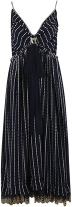 Chloé Stripe Detail Long Dress