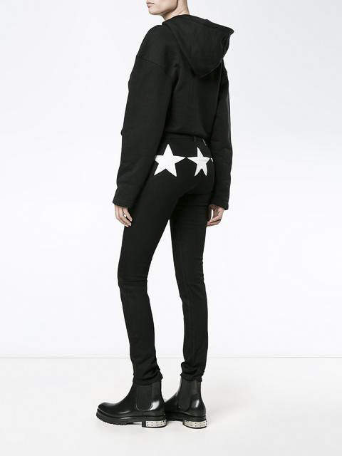 Givenchy Star motif jeans