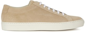 Common Projects Original Achilles camel suede sneakers